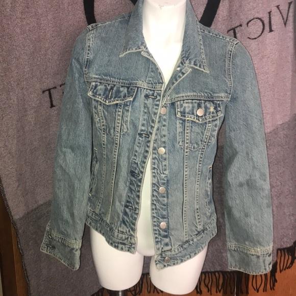 J. Crew jean jacket S